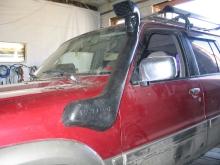 Patrol Y61 2010.06.17 защита, шноркель, подножки