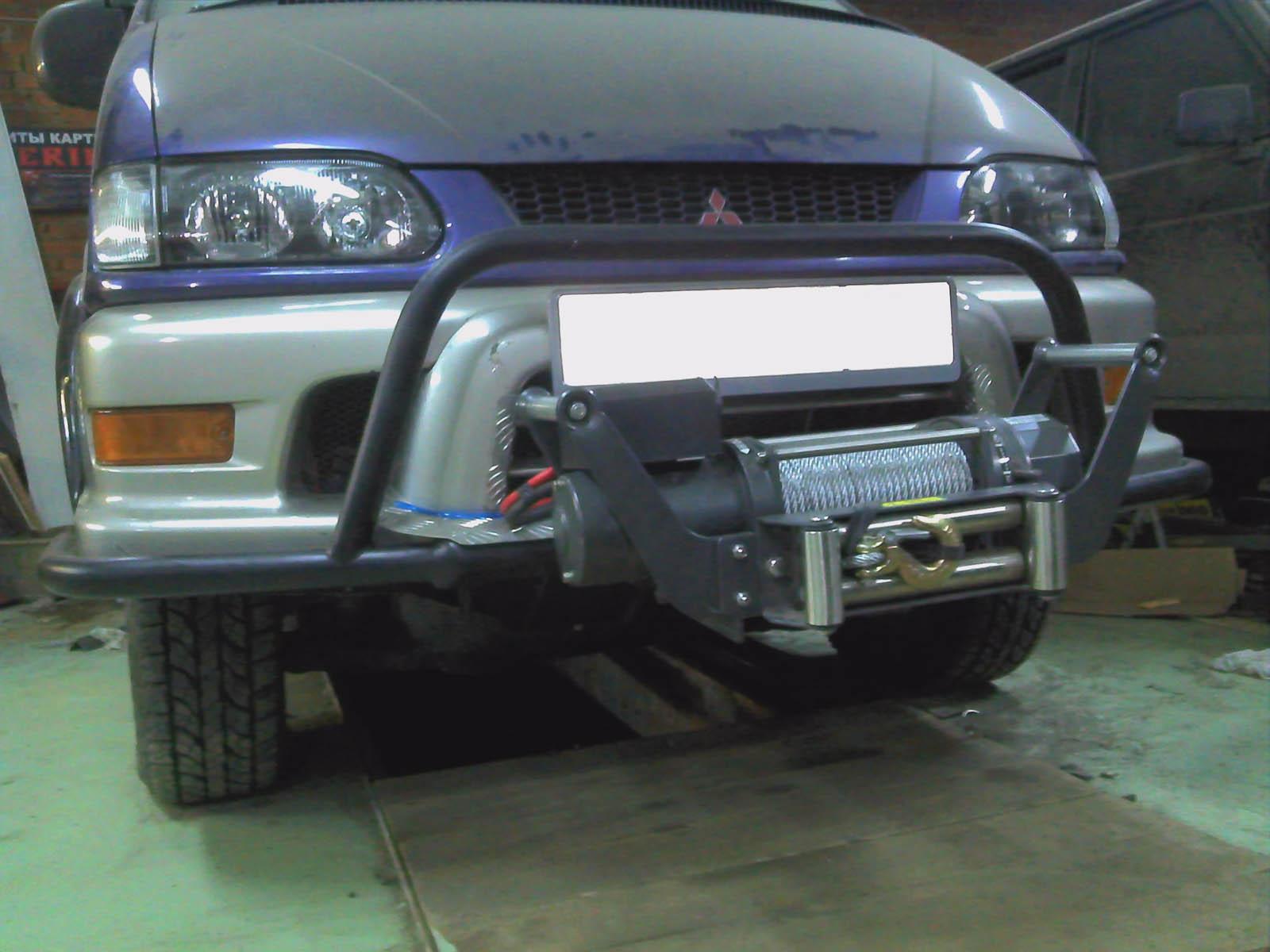 Защита переднего бампера автомобиля как сделать своими 35